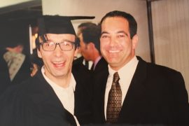 Tom-Gross-with-Roberto-Benigni